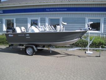 Smartliner aluminium 450 BASS